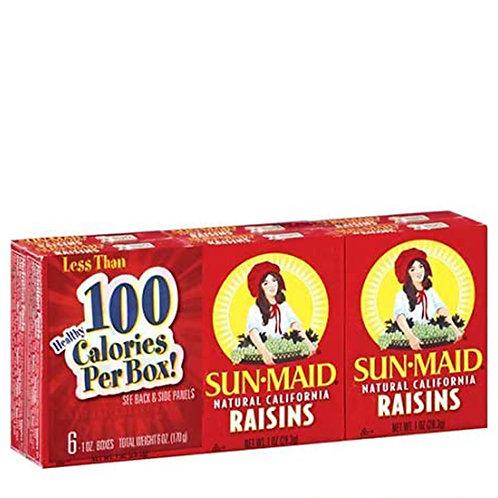 Sun-Maid Raisins 6- 1oz oz