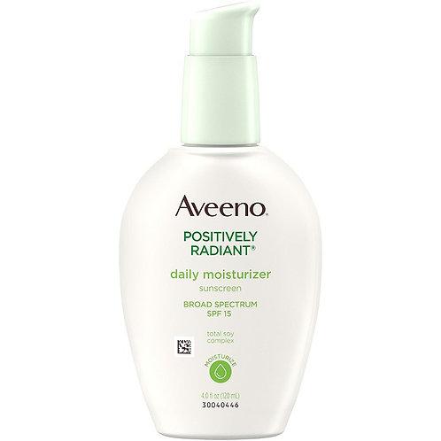 Aveeno daily moisturizer sunscreen SPF15 4.0oz