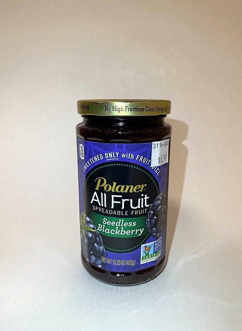Polaner All Fruit Seedless Blackberry 15.25 oz