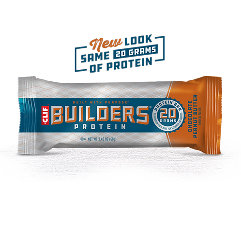 Clif Builder's Protein Bars Chocolate Peanut Butter 2.4 oz
