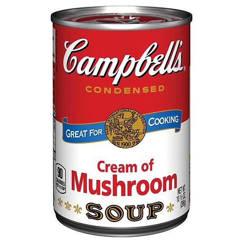 Campbell's Condensed Cream Of Mushroom Soup, 10,5 Oz