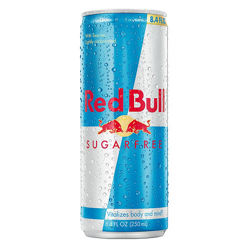 Red Bull Energy Drink: Sugarfree 8.4oz