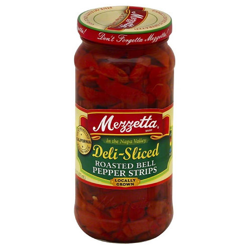 Mezzetta Deli-sliced roasted Bell Pepper, 24 Fl Oz