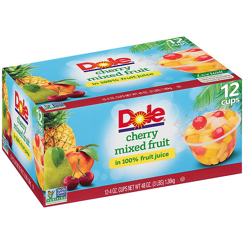 Dole Cherry Mixed Fruit Cup 4oz