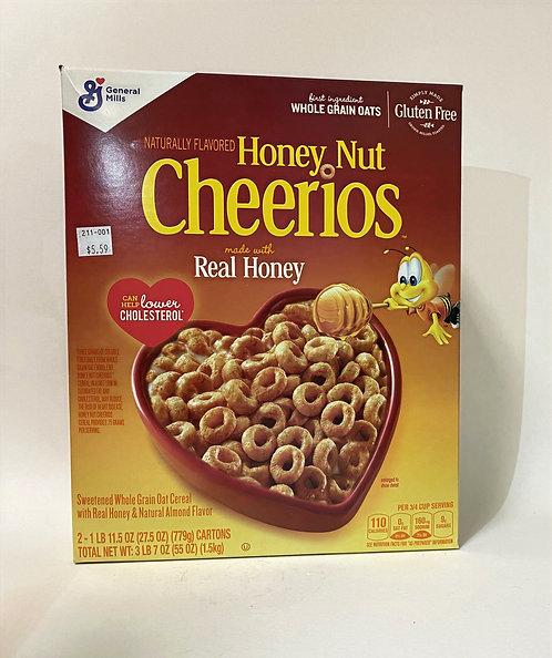 Cheerios Honey Nut Real 27.5oz
