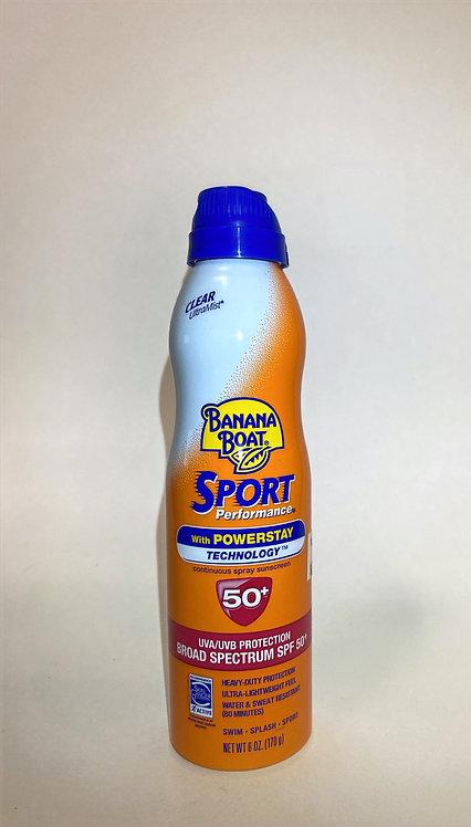 Banana Boat Sunscreen Spray: Kids Sport SPF50+ 6oz