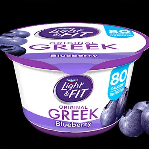 Greek Yogurt Blueberry