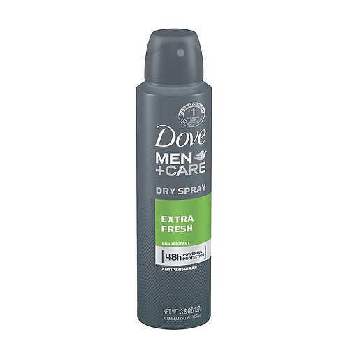 Dove Men+Care Dry Spray Extra Fresh 48H 3.8oz