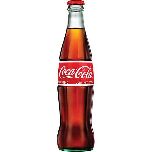 Coca-Cola refresco bottle  12oz