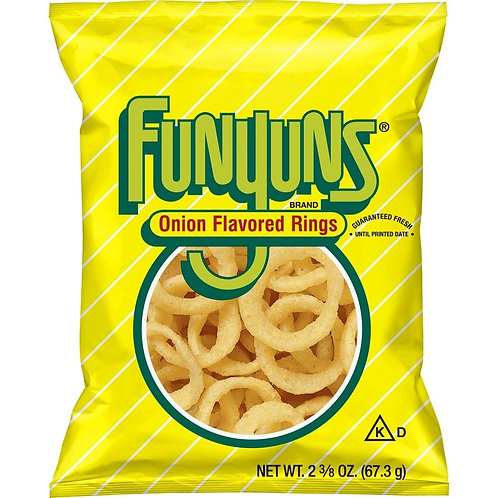 Funyuns Onion Flovored Rings