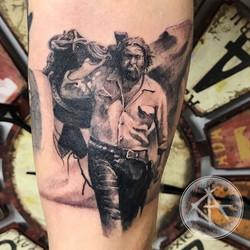 Bud Spencer project in progress _#budspencer #realism #realistictattoo #realistic #tattoo #tattoos #