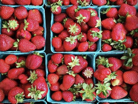 Yummy Strawberries for Super Eyes