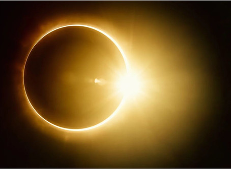 During Eclipse, 'Your Eye Can Scorch'