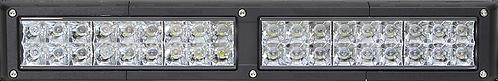 """Dual Row 20"""" Continuum Series (Smoked Lens)"""