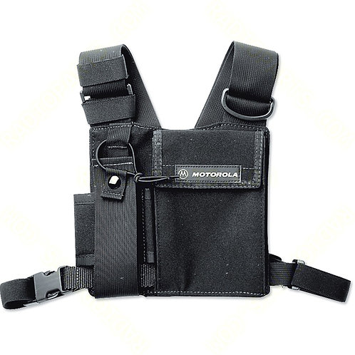 Universal Chest Pack with Radio Holder, Pen Holder and Velcro Secured Pouch