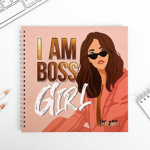 Смешбук «I am BOSS Girl»