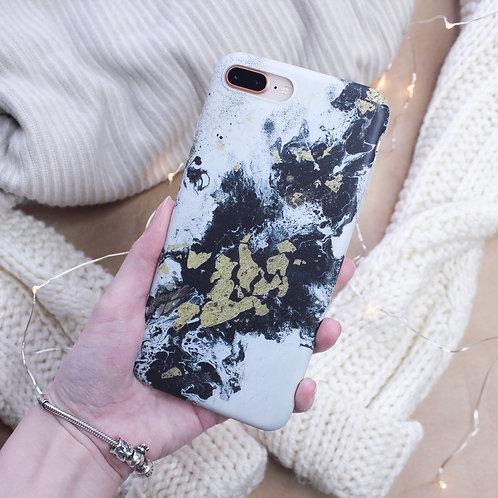 Чехол на Iphone Grey Marble