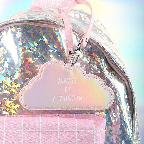 Бирка для багажа Clouds