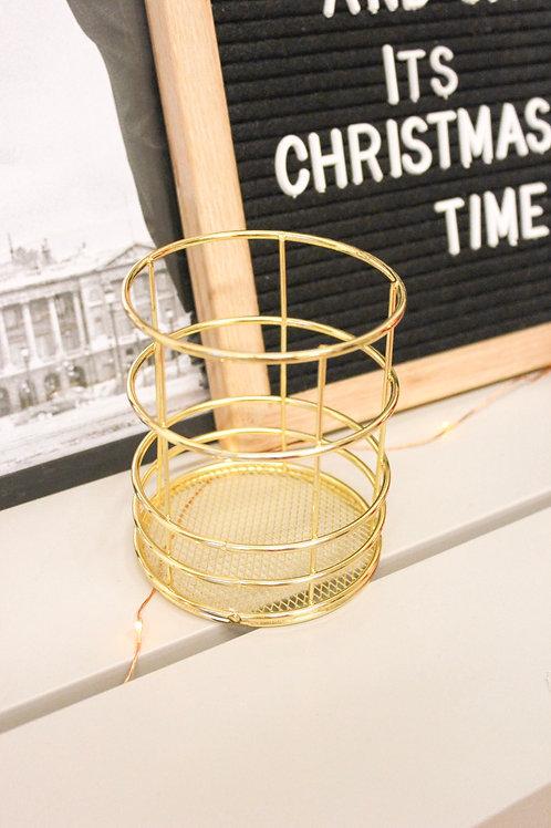 Декоративный стакан для ручек