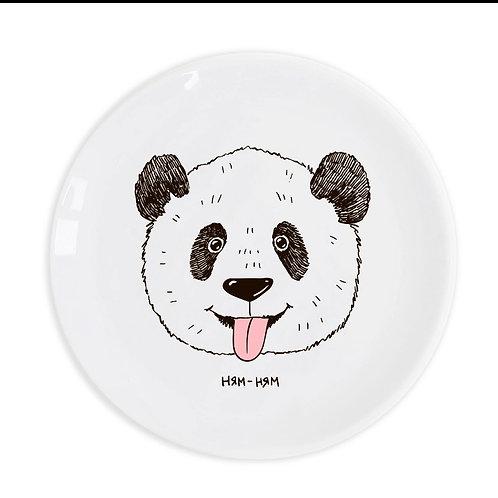 Тарелка «Панда ням-ням»