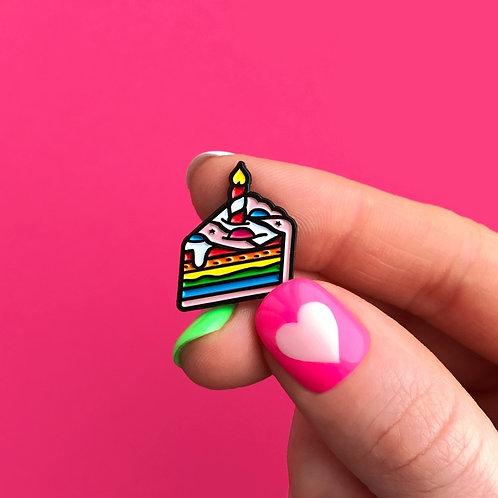 Значок «Праздничный тортик»