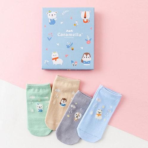 Подарочный набор носков 4 пары