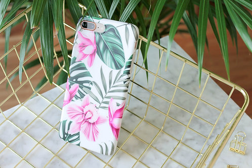 Чехол на Iphone Tropical Flowers