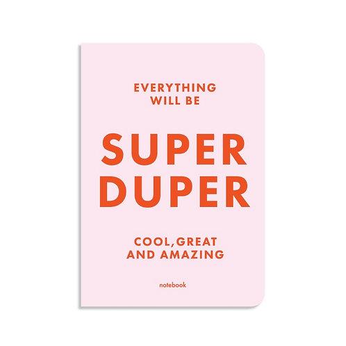 Блокнот в клетку SUPER DUPER