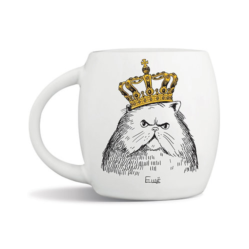 Чашка «Кот в короне»
