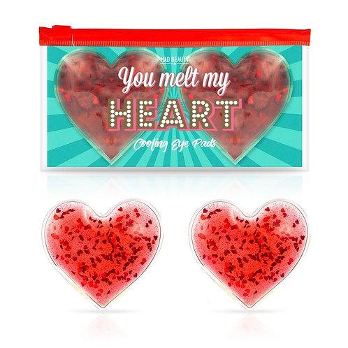 Охлаждающие подушечки для глаз «ты растопила мое сердце»
