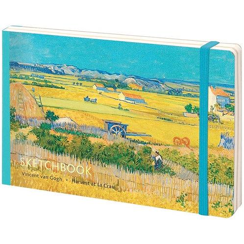Скетчбук-альбом для рисования 80л. А5