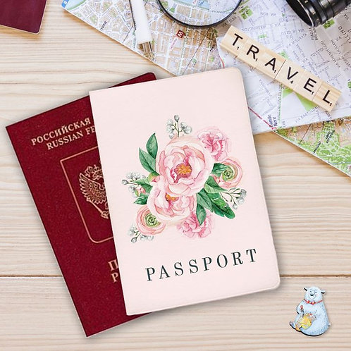 Обложка на паспорт Bright