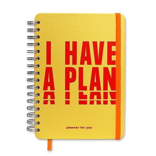 Ежедневник I HAVE A PLAN на кольцах