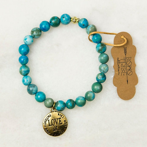 Love is Patient Bracelet