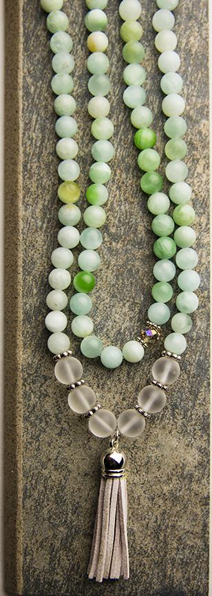 mala beads, mala necklace, meditate