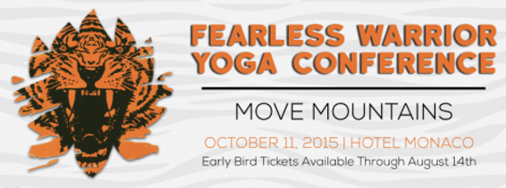 Fearless Warrior Yoga Conference