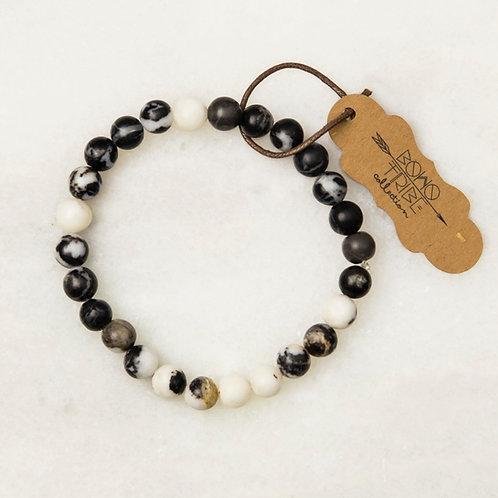Dude Bracelet - Zebra Stone