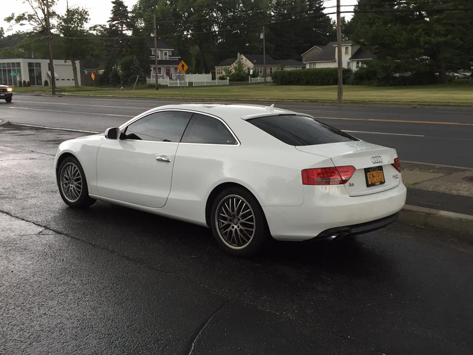 A5 35% window tint