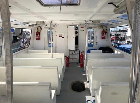 Mise en conformité Protection Incendie d'un bateau sur le Bassin d'Arcachon