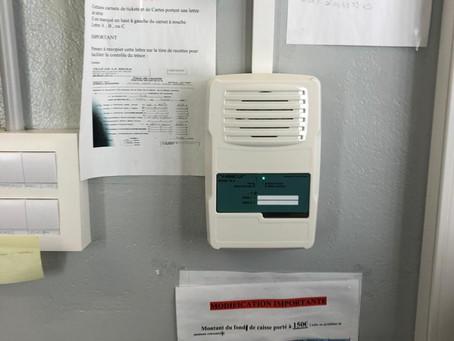 Remplacement d'une alarme incendie (SSI) dans le Sud Gironde (33)