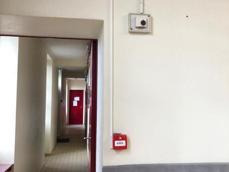 Équipement d'un bâtiment communal en matériel de protection incendie dans le Sud Gironde