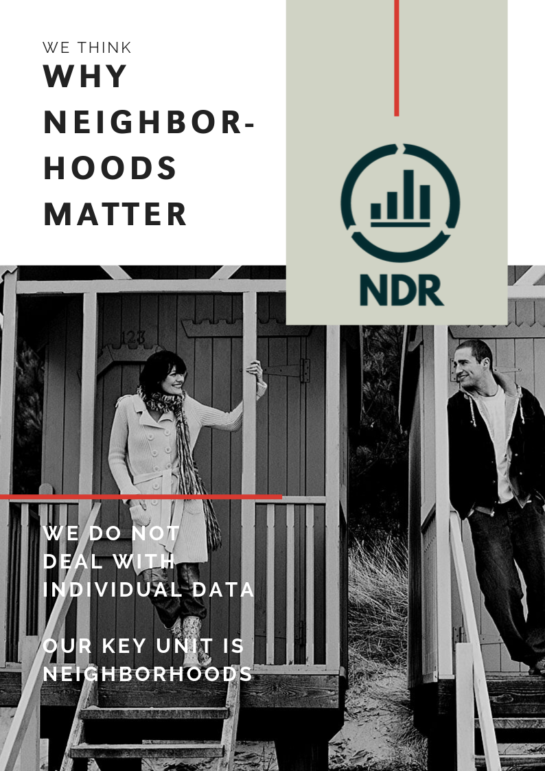 Why neighborhoods matter