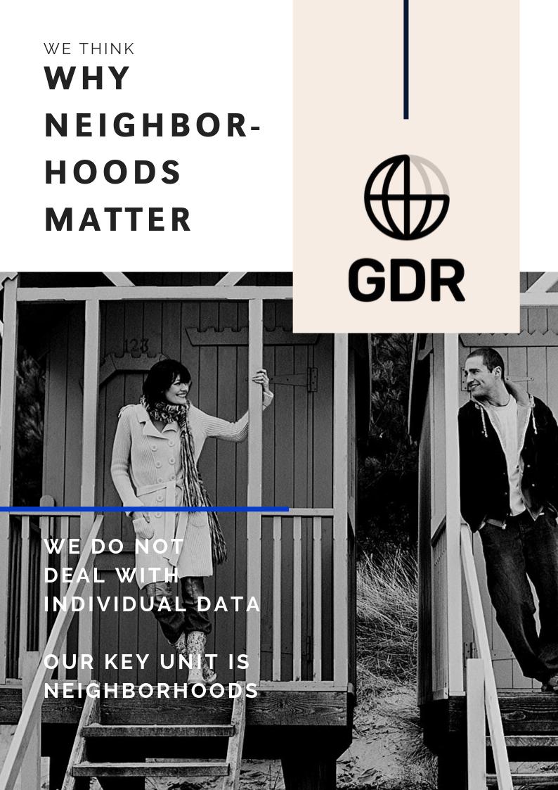 Why neighborhoods matter