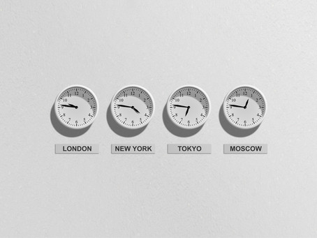 Tokyo and London on the map