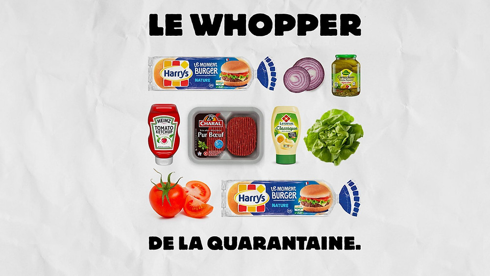 "Repositioning: Advertising the ""Quarantine Whopper"""