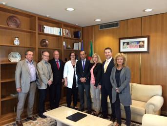 Portugal-Reise mit Mitgliedern des Ausschusses für Arbeit und Soziales