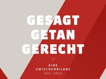 SPD-Bundestagsfraktion zieht Zwischenbilanz