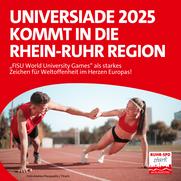Universiade 2025 in der Rhein-Ruhr Region