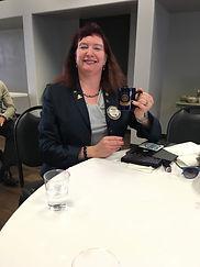 Julie Damron with mug.JPG