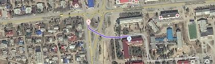 Маршрут до офиса экологического центра в Ноябрьске